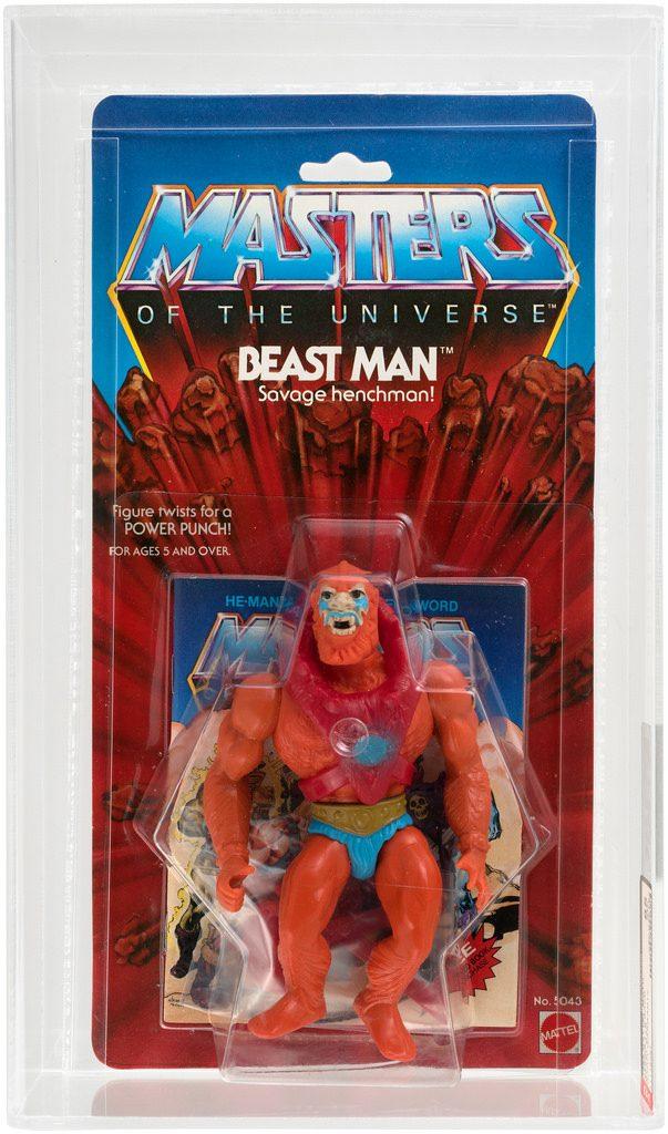 MOTU BEAST MAN YELLOW CHEST ARMOR Vintage Action Figure Part 1982