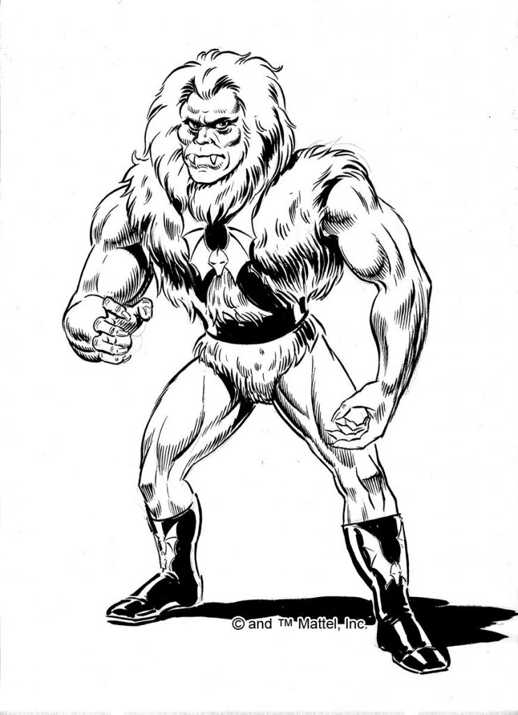 Grizzlor Hairy Henchman Of The Evil Horde 1985
