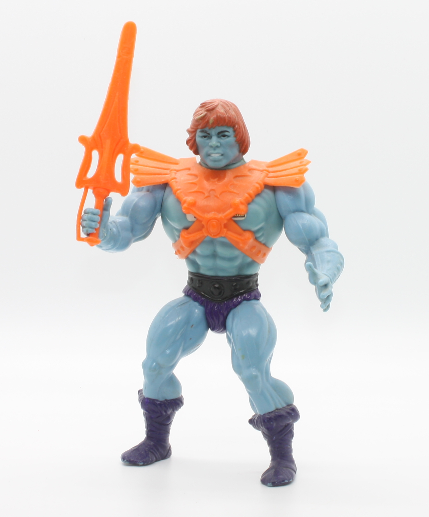MOTU Skeletor Purple HAVOC STAFF TAIWAN *GENUINE* Accessory Part He-Man Vtg 1984