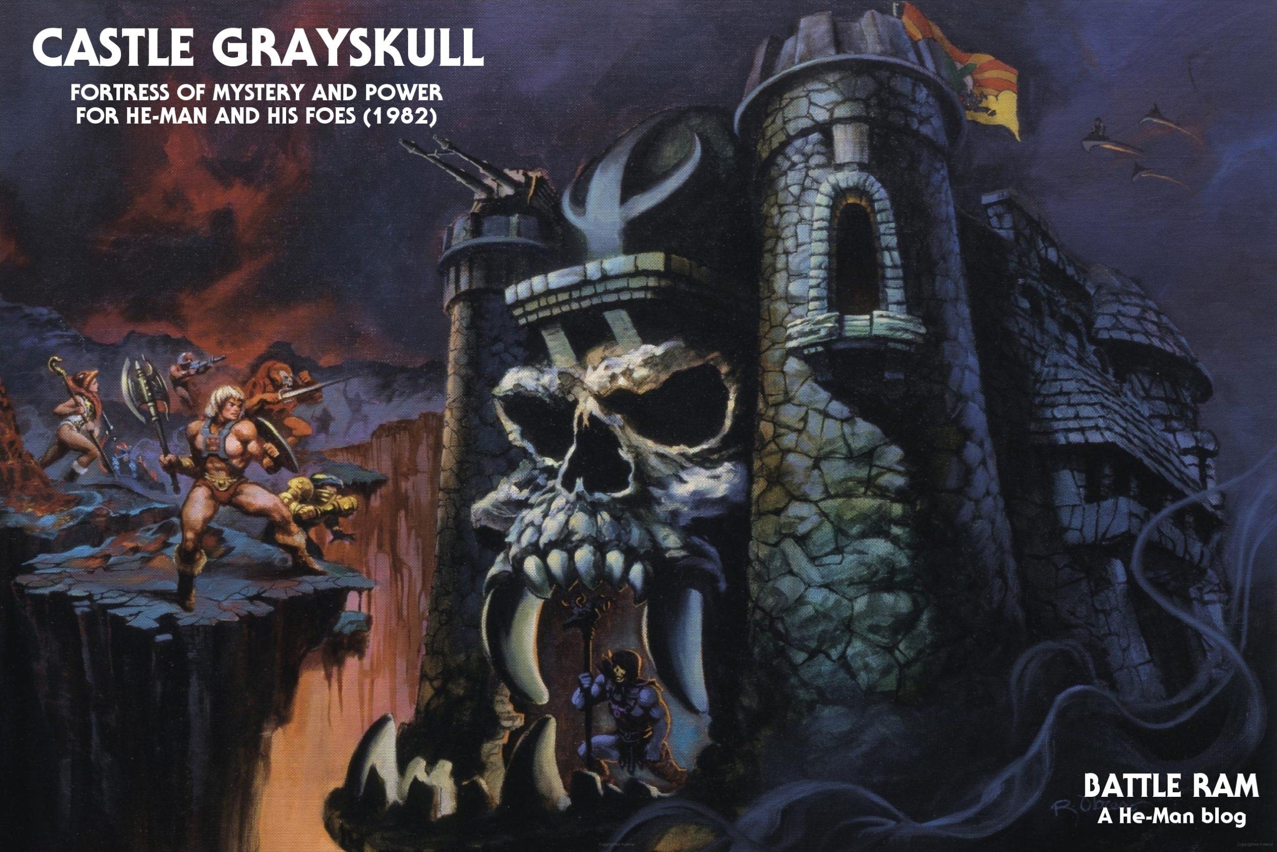 Buy masters of the universe mega construx castle grayskull set mattel